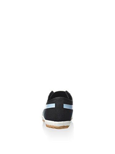 Asics - Zapatillas de Deporte de canvas Mujer Negro / Azul Claro