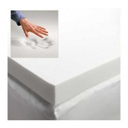 3'' Memory Foam Mattress Topper by DormCo