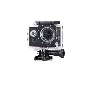 Flymemo F23 1080P Sport Camera NTK96650 Chipset/AR0330 Image Sensor/Full HD 30fps H.264/1.5 inches LCD Display/170 Degree Wide View Angle/30M Waterproof/Loop Recording Black