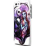jack and sally iphone case - Nightmare Before Christmas Jack and Sally for Iphone and Samsung Galaxy Case (iPhone 5/5s white)