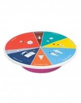 Wild Eye Designs Wink Cake Platter - Wheel of Portion (Giftapolis Platter)