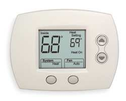 Focuspro Non Programmable Digital Thermostat - HONEYWELL 1H/1C DIGITAL THERMOSTAT NO-PG 5000 2.98