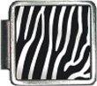 Zebra Print Italian Charm Bracelet Link