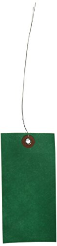 Box Partners #5 Wired Green Tyvek Tag 4 3/4