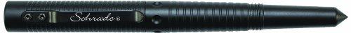- Schrade SCPEN6BK Survival Tactical Pen, Black