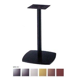e-kanamono テーブル脚 クリーンS7400 ベース400x400 パイプ76.3φ 受座240x240 基準色塗装 AJ付 高さ700mmまで ジービーメタリック B012CF9TO8 ジービーメタリック ジービーメタリック