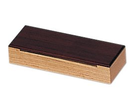 Caja china 18.5 x 6.5 cm, Fresno y Palosanto