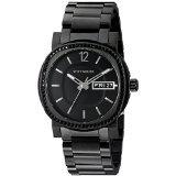 Wittnauer Mens WN3050 22mm Stainless Steel Black Watch - Wittnauer Mens Watches