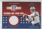 13 Dan Marino Jersey (Dan Marino #195/300 (Football Card) 2002 Playoff Prestige - Stars of the NFL Jerseys #SN-13)