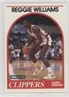 (Reggie Williams (Basketball Card) 1989-90 NBA Hoops - [Base] #128)