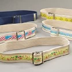 Sammons Preston 081590660 Designer Gait Belt with Happy Face Design, Pediatric & Adult Transfer Belt for Lifting & Walking, Mobility Aid for Hospital & Home Use