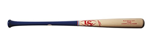 "Louisville Slugger C271 MLB Prime Maple America Baseball Bat, Red/White/Blue, 32""/29 oz"