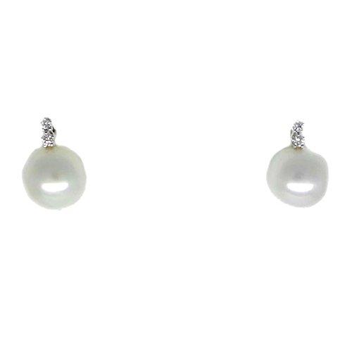 Boucles D'Oreille Femme-Or-perle