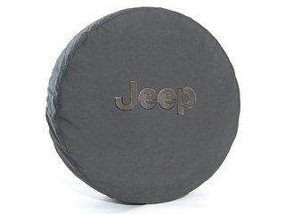 2009-2012 Jeep Wrangler Spare Tire Cover, Cloth