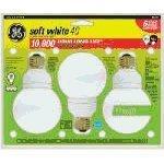 (G25 globe with medium base for use in vanity strips - GE Lighting Energy Smart CFL 85392 11-Watt, 500-Lumen G25 Light Bulb with Medium Base, 3-Pack)