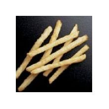 Simplot Natural Crisp Shoestring Straight Cut Potato French Fry, 4.5 Pound -- 6 per case.