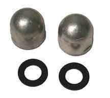 (Mercruiser Anode Aluminum Nut for Gimbal Housing Bolt (2 on card) Part# PMC00050A OEM# 55989T9)