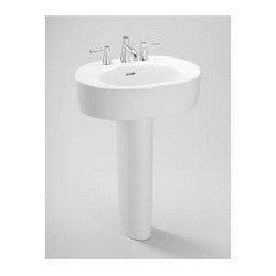 - Toto LPT790.4#11 Nexus Pedestal Lavatory, Colonial White