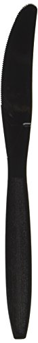 Big Party Pack Plastic Knives | Jet Black | 100 ct. | Party Supply