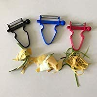 TIMGOU Set of 3 Magic Peeler, Kitchen Aid Peel Anything In Seconds With The Amazing 3pc Peeler Set