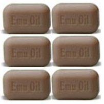 SOAP WORKS Emu Oil Soap Bar, 6 Count