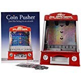 - Coin Pusher Machine Arcade Game Battery Operated Music Flashlight Voice New ♥ Guaranteed Quality