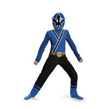 [Blue Ranger Samurai Classic Costume Size: Medium] (Power Ranger Samurai Costumes)