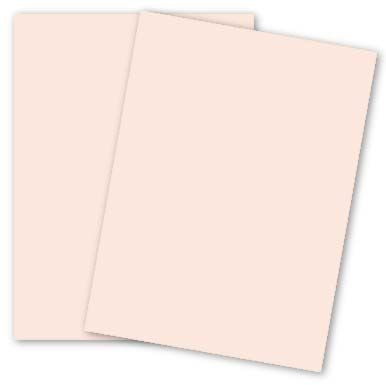 Cranes Colors - 8.5 x 11 Card Stock Paper - PINK - 100% Cotton - 134 Cover - 25 PK ()
