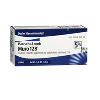 Bausch и Lomb Muro 128 5% мазь, 3.5 gm (Pack 1)