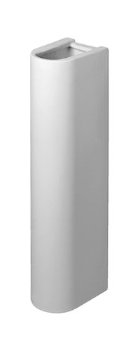 - Duravit 0865160000 Starck 3 Sink Pedestal, White Finish