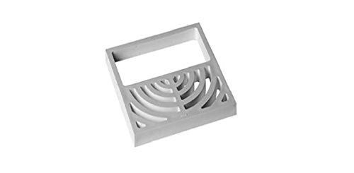 IPS 65802 Half Grate for Floor Sink Top PVC by IPS