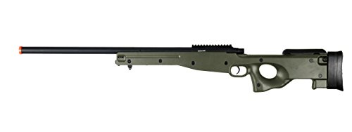 AGM-L96-Bolt-Action-Spring-Sniper-Airsoft-Rifle-Gun-FPS-465-Green