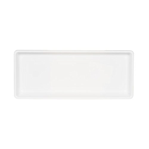 Novelty Countryside Flower Box Tray, White, 18-Inch (Long Tray)