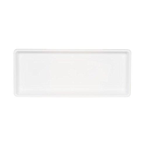 Box Flower Trays - Novelty Countryside Flower Box Tray, White, 18-Inch