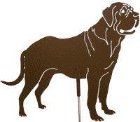Mastiff Ornaments - Haute Steel Mastiff Metal Dog Stake