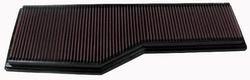 K&N ENGINEERING 33-2786 Air Filter; Panel; H-1.125 in.; L-6.938 in.; W-20.75 in.;