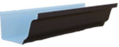 GENOVA PRODUCTS TV344884 5x10 BRN Vinyl Gutter -