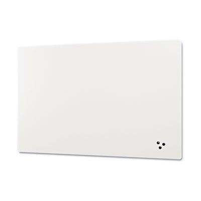 Elemental Frameless Markerboard, 24x36, Porcelain Steel, White, Sold as 1 Each by Best-Rite