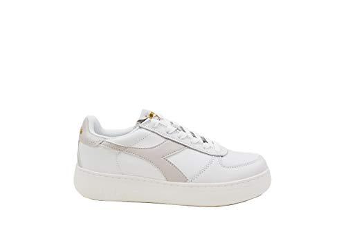 bianco Vento Bianco donna Candido Wide elite B Diadora C7904 da grigio Sneakers tnq0vqwa