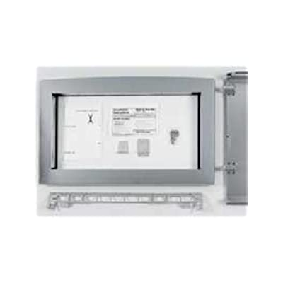 Click for GE JX2130SH Deluxe Built-In Trim Kit for 2.1 Cu. Ft. Microwave Ovens