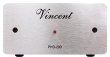 INCENT PRE PHONO PHO 200 SILVER AUDIOPHILE NUOVO Vincent