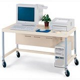 "Bretford EC8-PB 24""x 48"" Microcomputer Cart from Bretford"