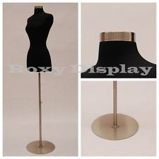 (JF-F1WL+BS-05) ROXYDISPLAY™ New Design Female Body Form Size 2-4 with Base Roxy Display Inc.