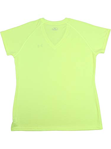 Under Armour Women's Taxi Tech V-Neck Jersey Short Sleeve Soccer - XS by Under Armour (Image #2)