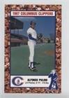 Alfonso Pulido (Baseball Card) 1987 Cracker Jack Columbus Clippers Police - [Base] #ALPU