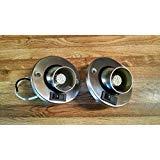 Gustafson Lighting 4pk 12V LED RV Camper Trailer Motorhome Directional Reading Light Brushed Nickel (4)