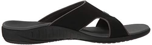 Spenco Men's Kholo Plus Slide Sandal, Carbon/Pewter, 14 Medium US by Spenco (Image #7)