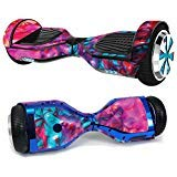 MightySkins Skin Compatible with Hover-1 H1 Hoverboard Scooter - Paint Party | Protective, Durable, and Unique Vinyl Decal wrap Cover | Easy to Apply, Remove, and Change Styles | Made in The USA (Ripple Wave Board)