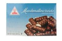 Joyva Chocolate Covered Marshmallow Twists -- 9 oz (Joyva Marshmallow)