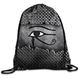 NUBIA Eye Of Horus Backpack Gymsack Drawstring Rucksack
